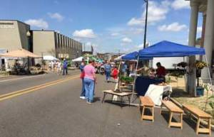 New Albany MS garden show street view