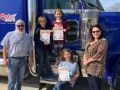 New Albany MS Roberts Trucking books donation
