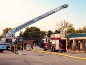 New Albany MS Action Lanes Fire