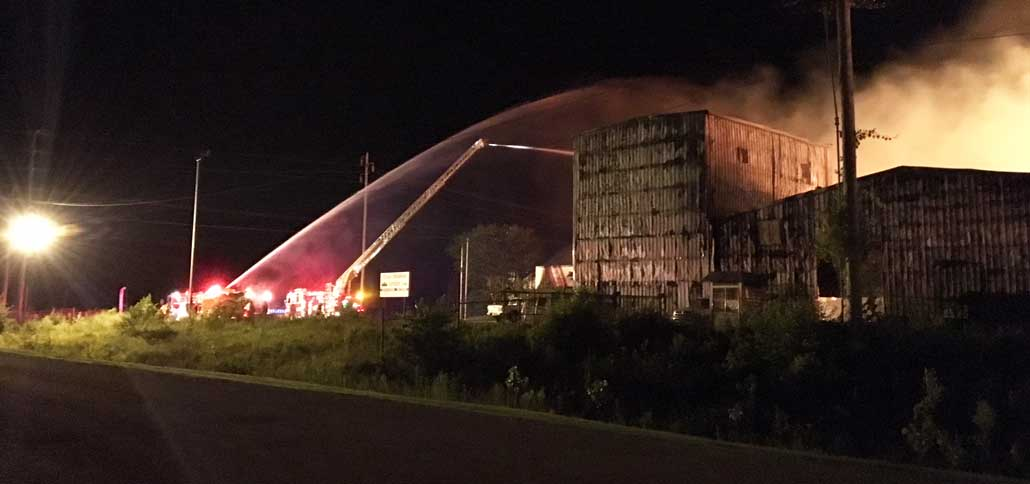 New Albany MS Thomas furniture fire building partly owned by Union Co.