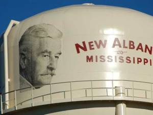 New Albany, MS Faulkner recognized in New Albany