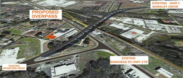 New Albany MS Glenfield traffic proposal