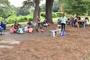 New Albany MS 2019-2020 Back to school health fair rest in the shade