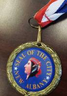 New Albany MS City Seal medals