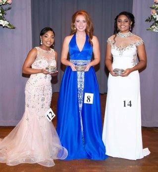 New Albany MS Parade of Beauties award winners