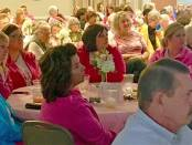 New Albany MS Baptist Breast Cancer luncheon crowd