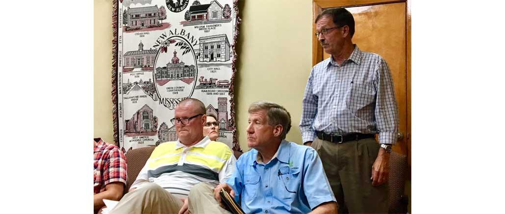 New Albany MS City Board October 2019, zoning