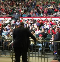 New Albany MS Trump political rally in Tupelo