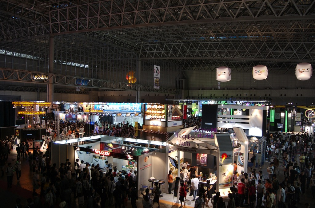 Tokyo Game Show main floor photo