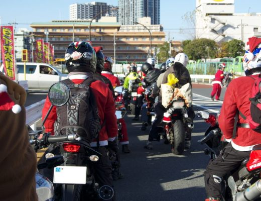 Ready to roll on the Toy Run