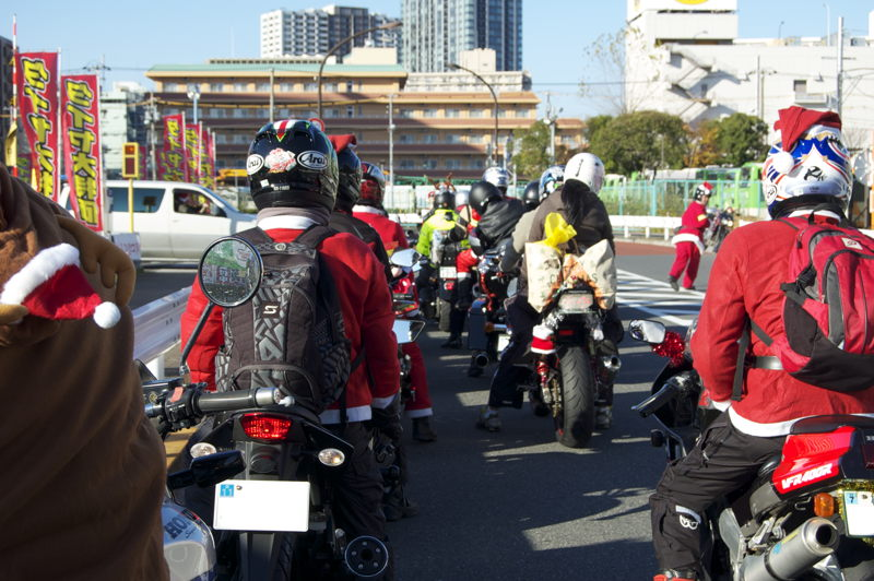 Ready to roll for another Toy Run