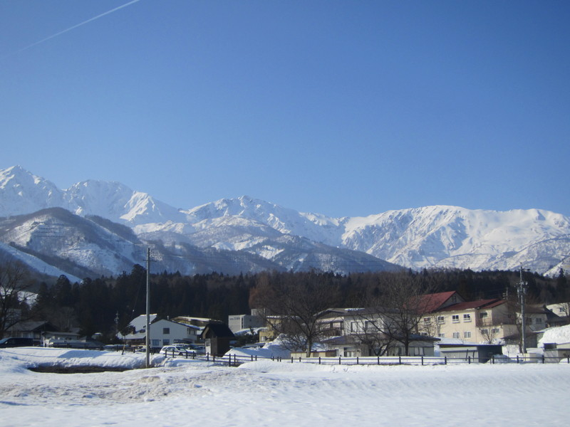 Hakuba on a sunny day!