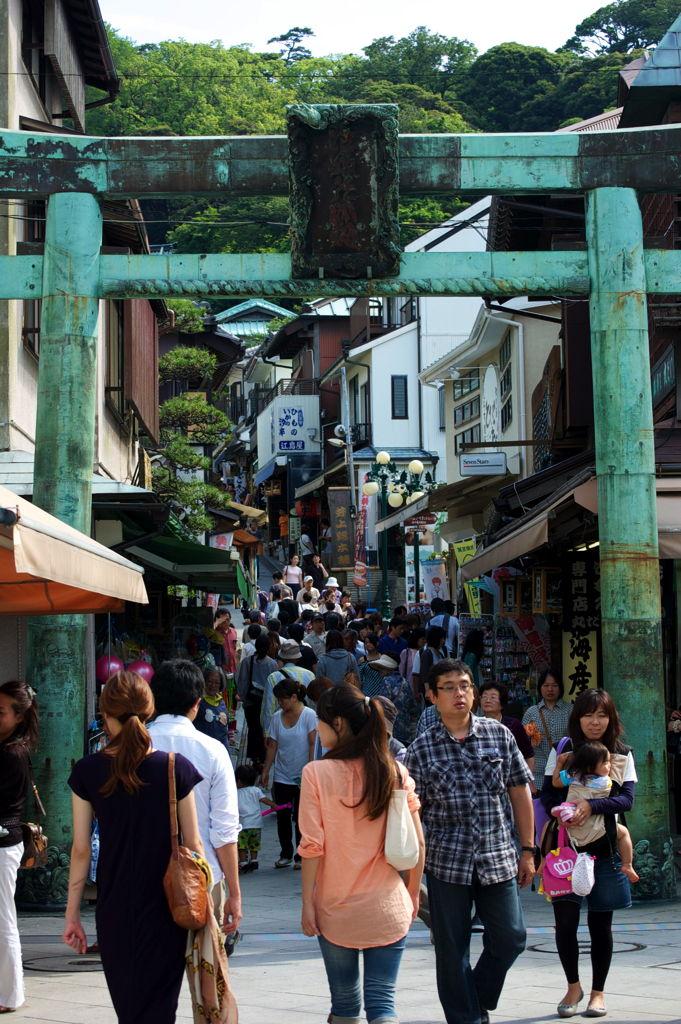 The Market Street on Enoshima