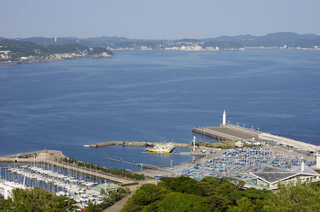 Enoshima marina from the top of ENoshima