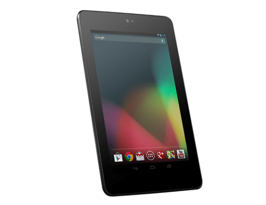 Nexus 7 tablet image