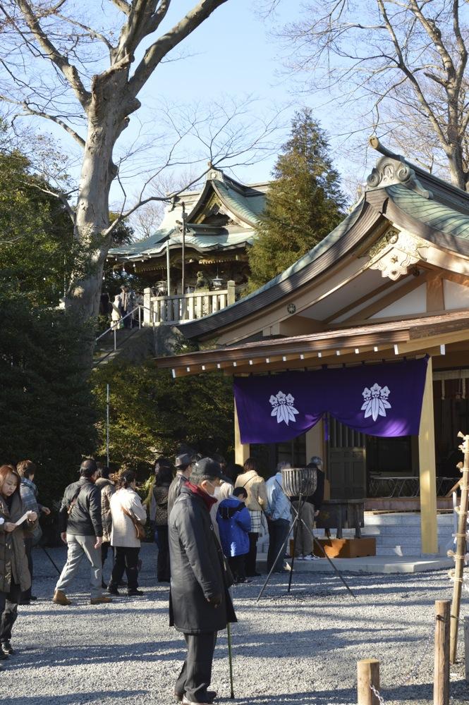 The Jinja at Oshogatsu