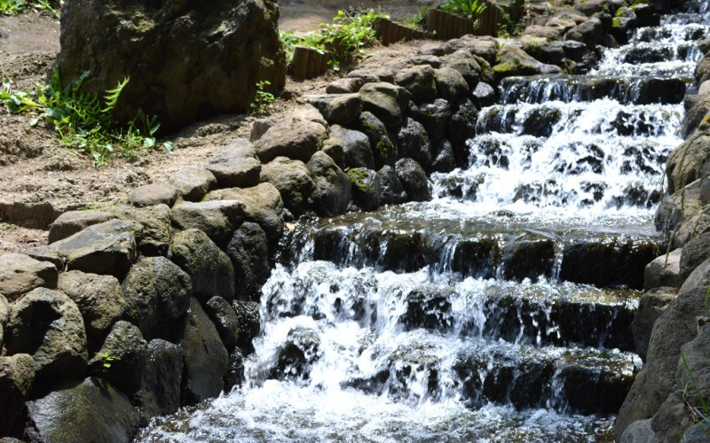 Waterfalls at Satoyama Park