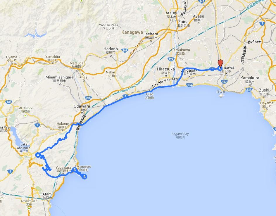 Manazuru My Map