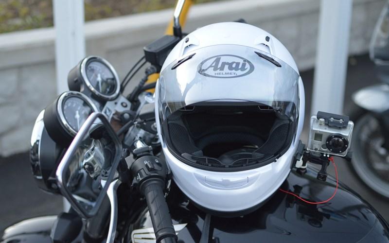 GoPro2 on helmet mount