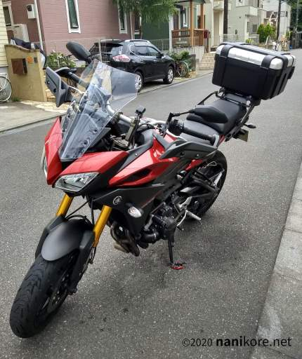 2016 MT-09 Tracer with TRK46N