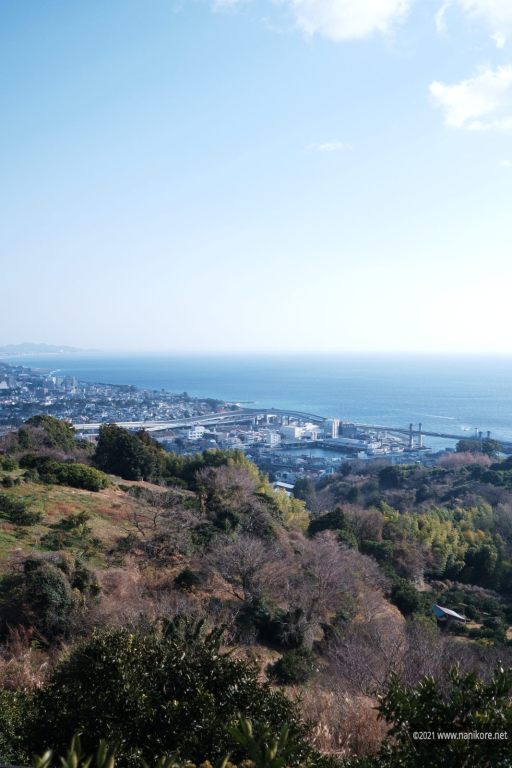 Hayakawa meets the ocean, as seen from the HIlls
