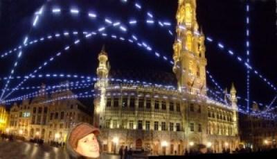 piazza centrale di Bruxelles
