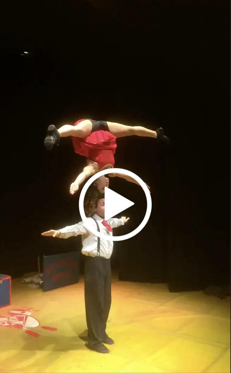 Un piccolo video dello spettacolo fatto al Teatro dell'Iride