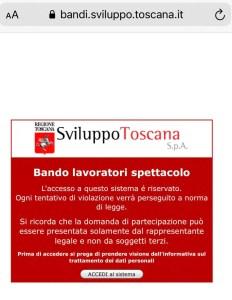 La regione Toscana eroga aiuti per i lavoratori dello spettacolo