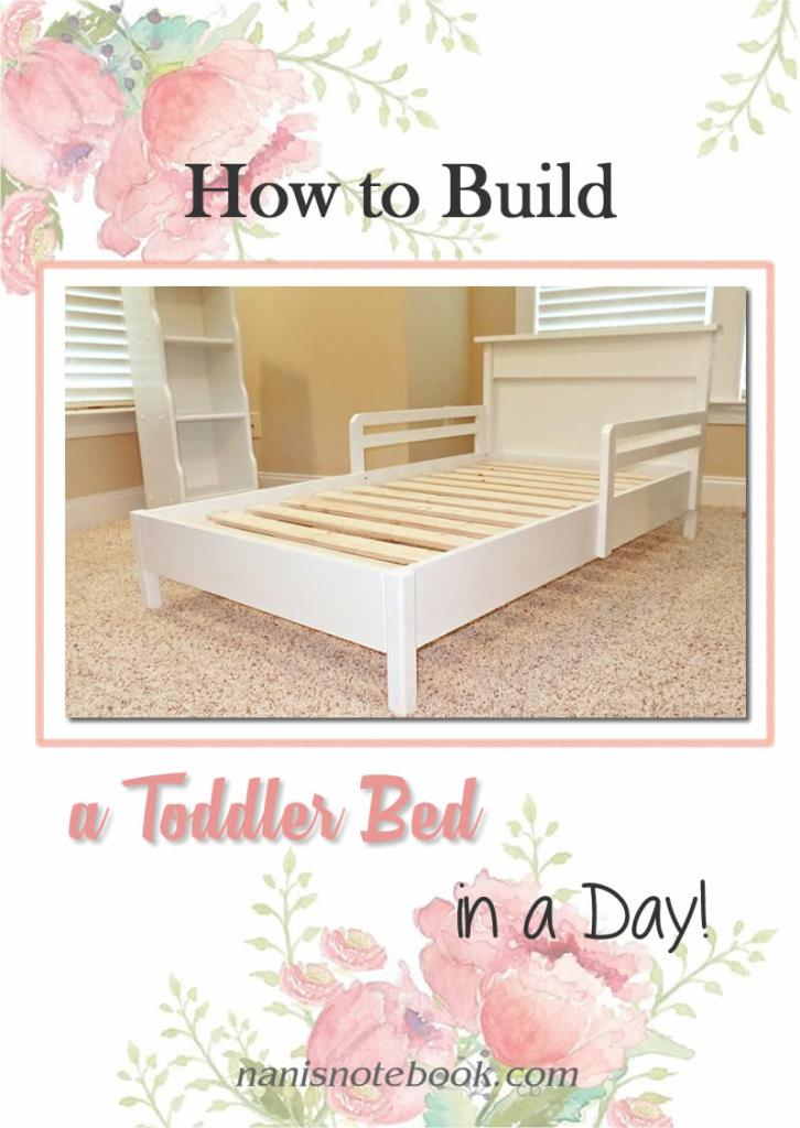 Build a Toddler Bed