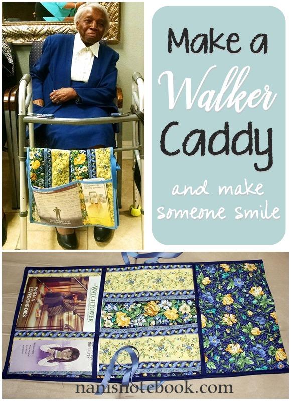 Make a Walker Caddy