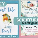 How to Make Easy Scripture Greeting Cards – and Video Tutorial.