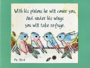 scriptural card - ps91