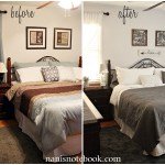 Shades of Gray Master Bedroom Makeover