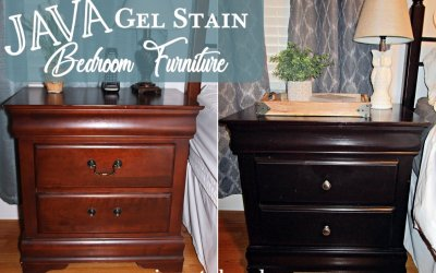 Java Gel Stain Your Bedroom Furniture!