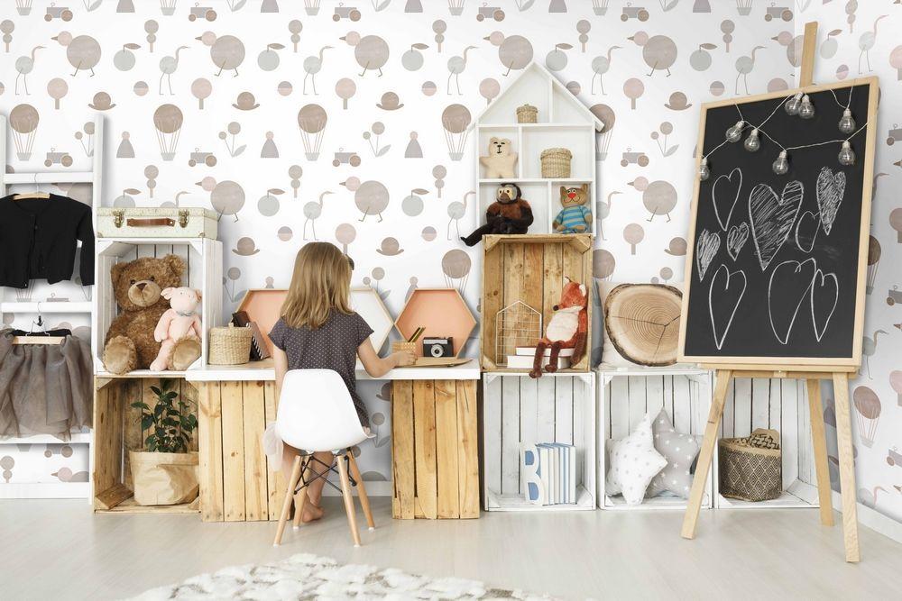 Carta da parati adesiva, rimovibile, lavabile e personalizzata in tanti colori per rivestire pareti, porte e mobili della cucina. Carta Da Parati Bambini