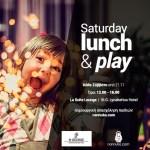 Lunch & Play με τη Nannuka και τα Σάββατα στο St.George Lycabettus!