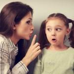 το παιδί αντιμιλάει