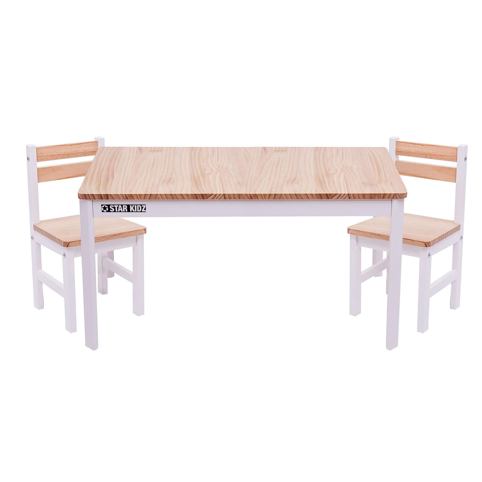 toddler table and chair set south africa ikea fold away chairs nu elwood rectangle 2 inverted white