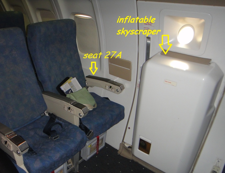 You Seat Airplane Get Never