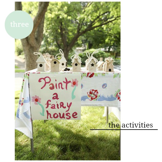 paint a fairy house