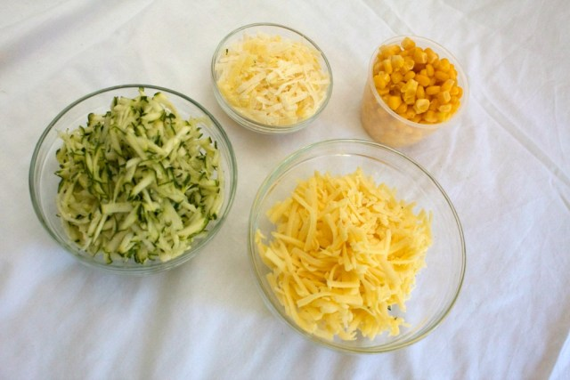 Sweet Corn Muffins Ingredients