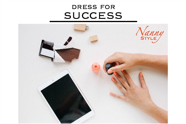 dress for success nanny style