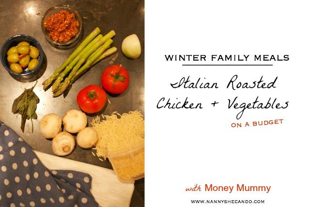 Money Mummy Winter Family Meals