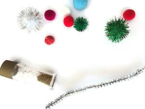Christmas Tree Collage Craft