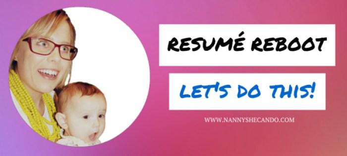 Hope For Nannies, Resumé Reboot, Nanny Shecando