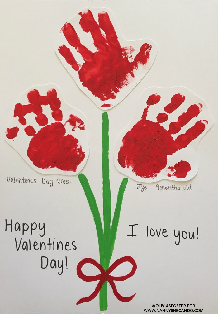 Valentines day easy kids craft for Toddler valentine craft ideas