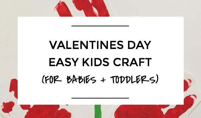 Valentines Day Easy Kids Craft