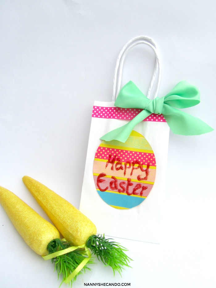 Diy easter egg hunt carry baskets diy easter egg hunt carry baskets nanny shecando negle Images