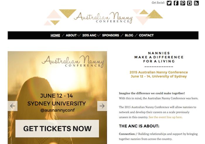 2015 Australian Nanny Conference, nanny convention, australian nanny association, nannypalozzaoz