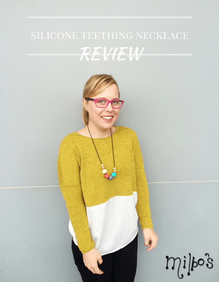 Milbos Teething Necklace Review, NANNY SHECANDO
